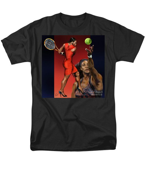 Sensuality Under Extreme Power - Serena The Shape Of Things To Come Men's T-Shirt  (Regular Fit) by Reggie Duffie
