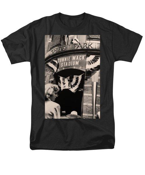 Shibe Park - Connie Mack Stadium T-Shirt by Bill Cannon