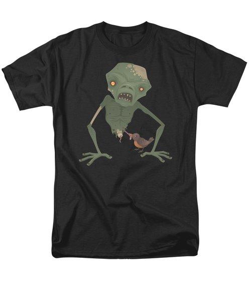 Sickly Zombie Men's T-Shirt  (Regular Fit) by John Schwegel