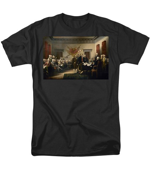 Signing The Declaration Of Independance T-Shirt by War Is Hell Store