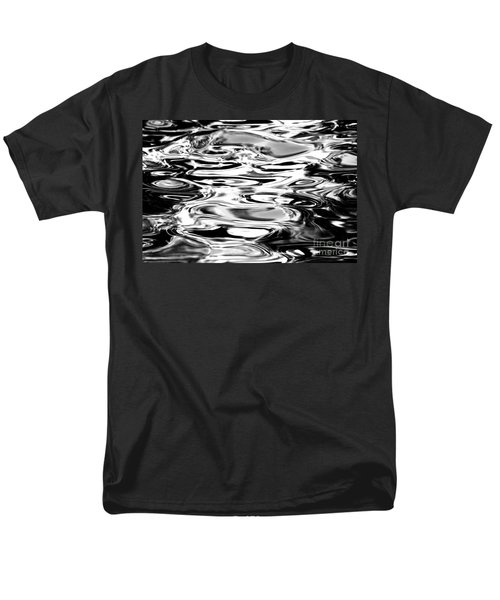 Silvery Water Ripples T-Shirt by Dave Fleetham - Printscapes