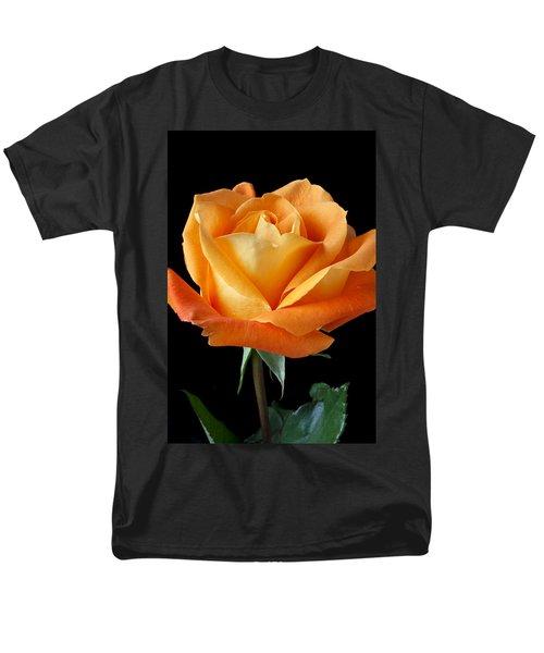 Single Orange Rose T-Shirt by Garry Gay