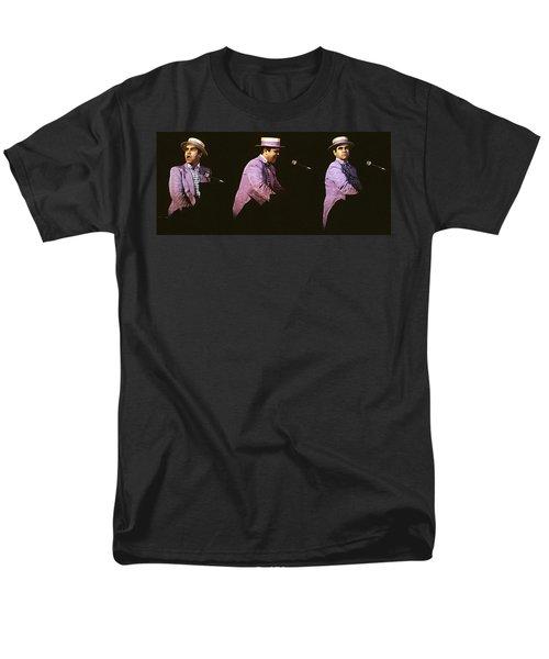 Sir Elton John 3 Men's T-Shirt  (Regular Fit) by Dragan Kudjerski