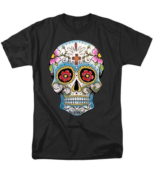 Skull 10 Men's T-Shirt  (Regular Fit) by Mark Ashkenazi