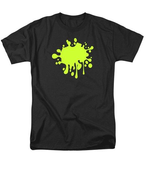 Solid Electric Lime Color Men's T-Shirt  (Regular Fit) by Garaga Designs