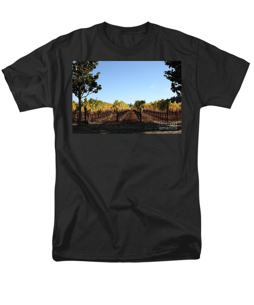 Sonoma Vineyards - Sonoma California - 5D19314 T-Shirt by Wingsdomain Art and Photography