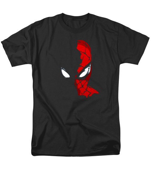 Spidey In The Shadows Men's T-Shirt  (Regular Fit) by Ian  King