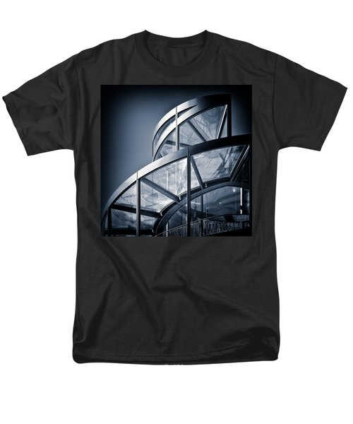 Spiral Staircase Men's T-Shirt  (Regular Fit) by Dave Bowman