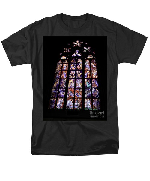 Stain Glass Window T-Shirt by Madeline Ellis