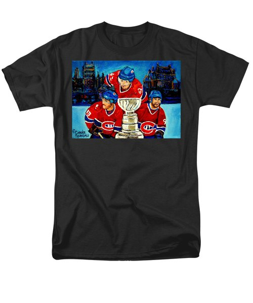 STANLEY CUP WIN IN SIGHT PLAYOFFS   2010 T-Shirt by CAROLE SPANDAU