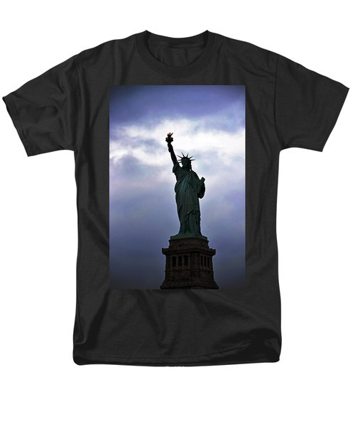 Statue Of Liberty May 2016 Men's T-Shirt  (Regular Fit) by Sandy Taylor