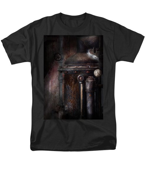 Steampunk - Handling Pressure  T-Shirt by Mike Savad