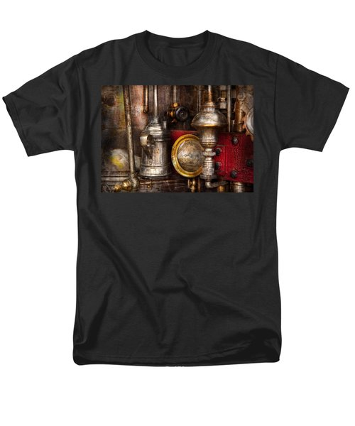 Steampunk - Needs oil T-Shirt by Mike Savad