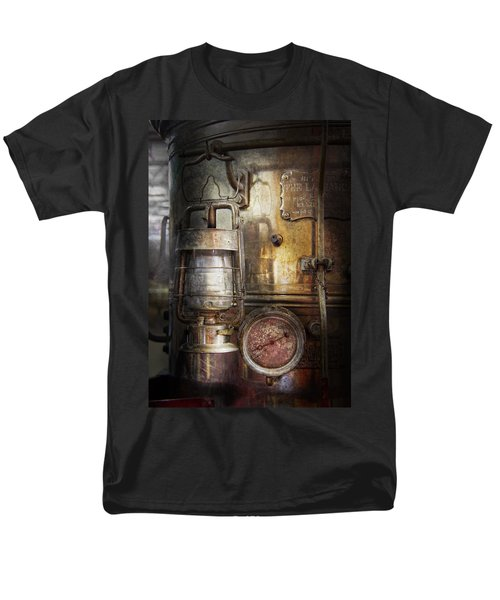 Steampunk - Silent into the night T-Shirt by Mike Savad