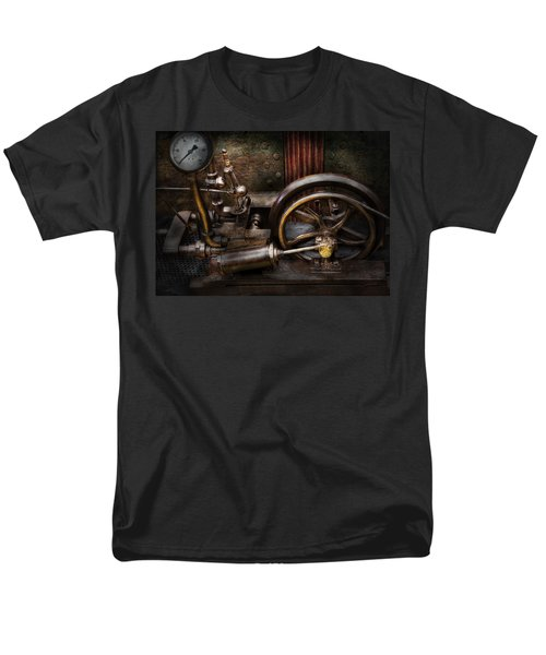 Steampunk - The Contraption T-Shirt by Mike Savad