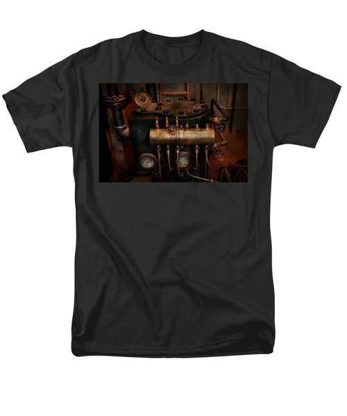 Steampunk - Plumbing - The valve matrix T-Shirt by Mike Savad