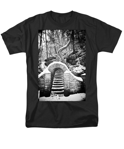 Steps Along the Wissahickon T-Shirt by Bill Cannon