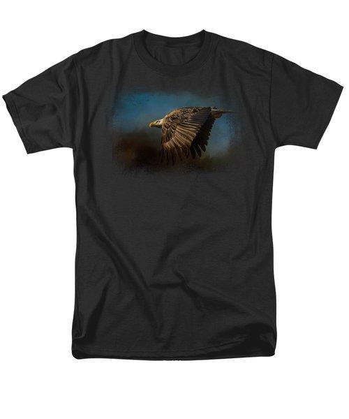 Storm Chaser - Bald Eagle Men's T-Shirt  (Regular Fit) by Jai Johnson