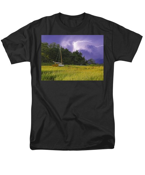 Storm Over Knott's Island T-Shirt by Charles Harden
