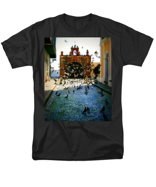 Street Pigeons T-Shirt by Perry Webster