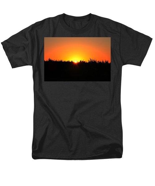 Sunrise Over Corn Field T-Shirt by Bill Cannon