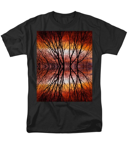 Sunset Tree Silhouette Abstract 2 T-Shirt by James BO  Insogna