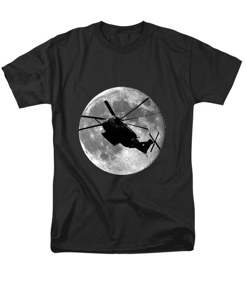 Super Stallion Silhouette .png Men's T-Shirt  (Regular Fit) by Al Powell Photography USA