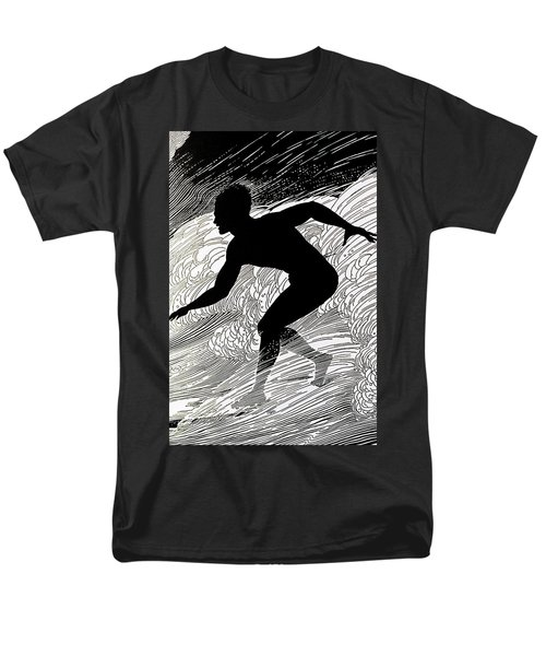 Surfer T-Shirt by Hawaiian Legacy Archive - Printscapes