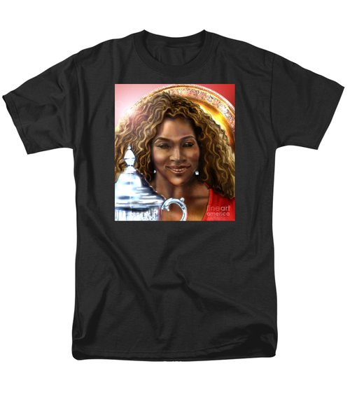 The Beauty Victory That Is Serena Men's T-Shirt  (Regular Fit) by Reggie Duffie