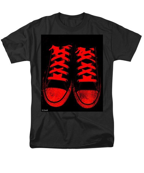 The Devil Wears Converse T-Shirt by Ed Smith
