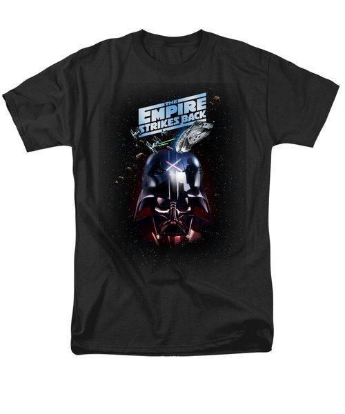 The Empire Strikes Back Men's T-Shirt  (Regular Fit) by Edward Draganski
