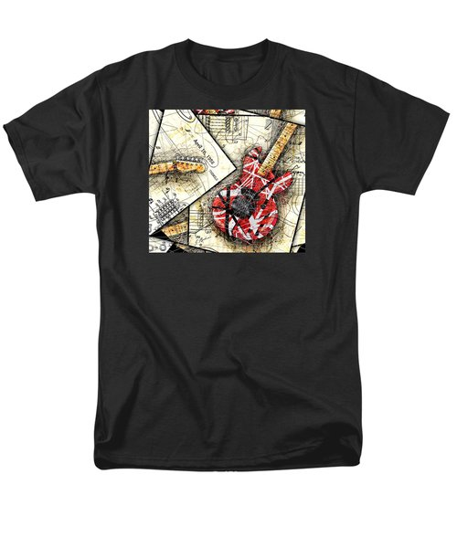 The Frankenstrat Men's T-Shirt  (Regular Fit) by Gary Bodnar