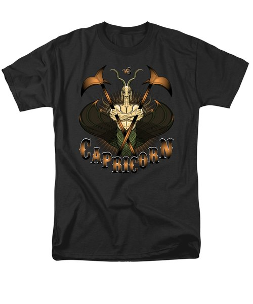 The Goat - Capricorn Spirit Men's T-Shirt  (Regular Fit) by Raphael Lopez