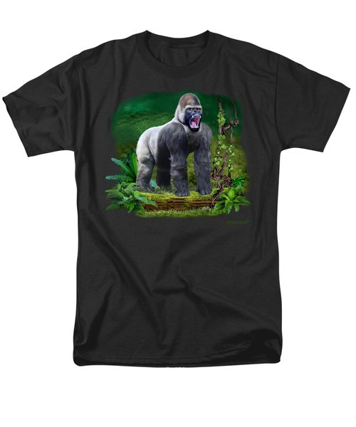 The Guardian Of The Rain Forest Men's T-Shirt  (Regular Fit) by Glenn Holbrook