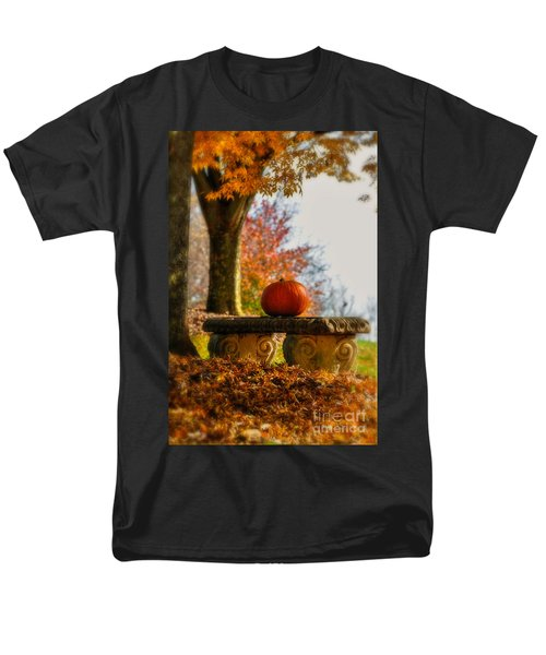 The Last Pumpkin T-Shirt by Lois Bryan
