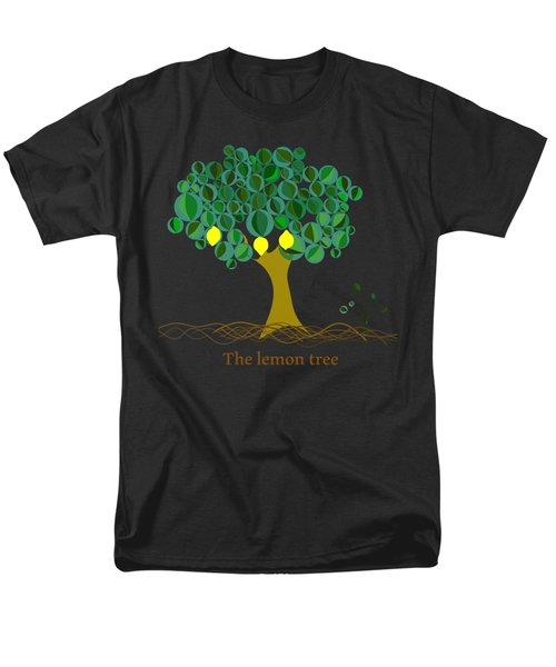 The Lemon Tree Men's T-Shirt  (Regular Fit) by Alberto RuiZ