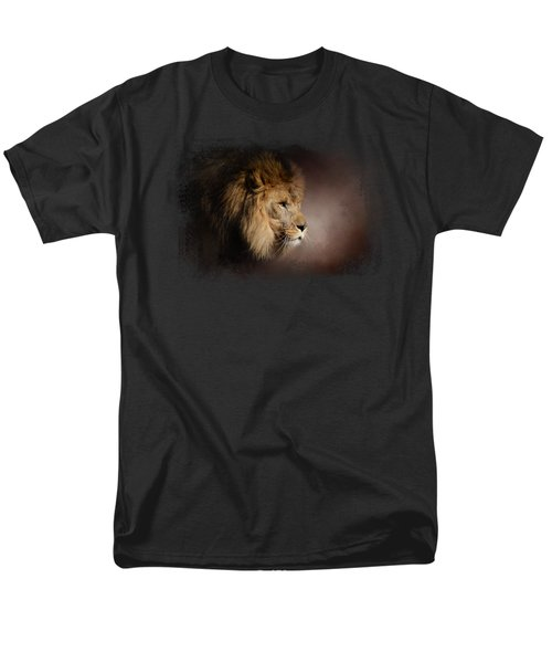 The Mighty Lion Men's T-Shirt  (Regular Fit) by Jai Johnson