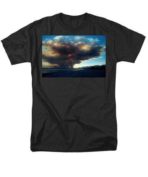 The Santa Barbara Fire T-Shirt by Jerry McElroy