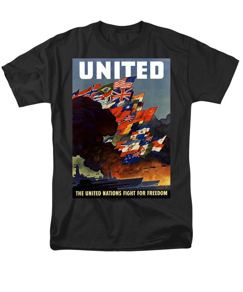 The United Nations Fight For Freedom T-Shirt by War Is Hell Store