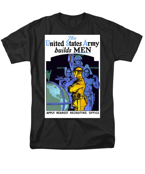The United States Army Builds Men T-Shirt by War Is Hell Store