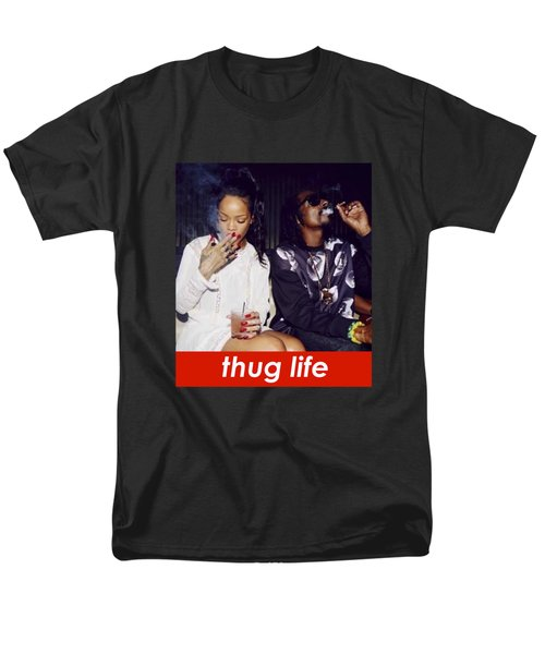 Thug Life Men's T-Shirt  (Regular Fit) by Bruna Bottin