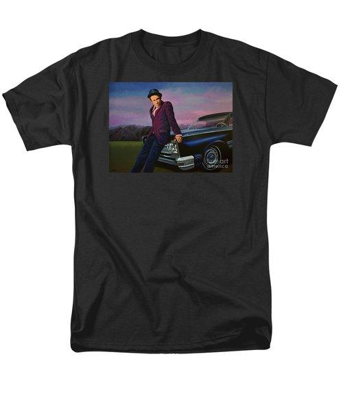 Tom Waits Men's T-Shirt  (Regular Fit) by Paul Meijering
