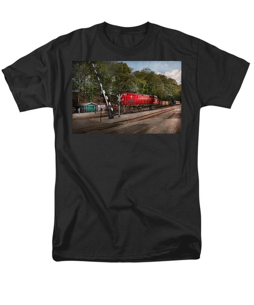 Train - Diesel - Look out for the Locomotive  T-Shirt by Mike Savad