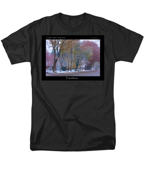 Transitions Autumn to Winter Snow Poster T-Shirt by James BO  Insogna