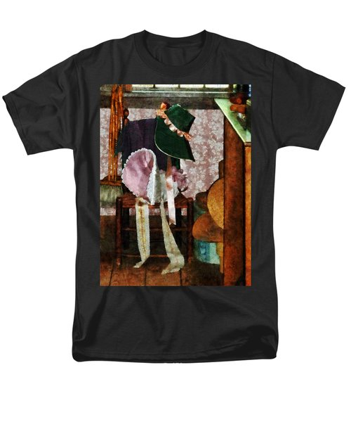 Two Old-Fashioned Bonnets T-Shirt by Susan Savad