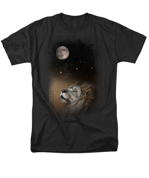 Under The Moon And Stars Men's T-Shirt  (Regular Fit) by Jai Johnson