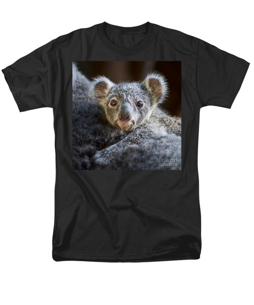 Up Close Koala Joey Men's T-Shirt  (Regular Fit) by Jamie Pham