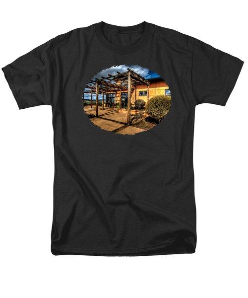 Van Duzer Vineyards Men's T-Shirt  (Regular Fit) by Thom Zehrfeld