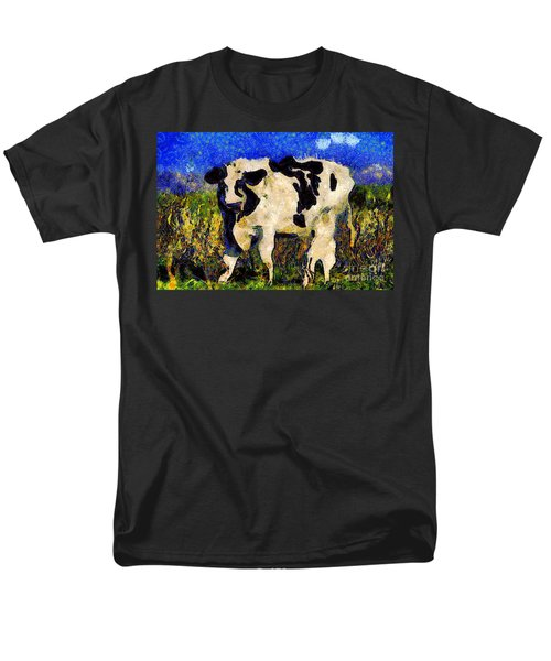 Van Gogh.s Big Bull . 7D12437 T-Shirt by Wingsdomain Art and Photography
