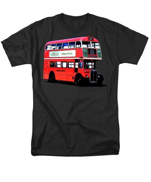 Vintage London Bus Tee Men's T-Shirt  (Regular Fit) by Edward Fielding